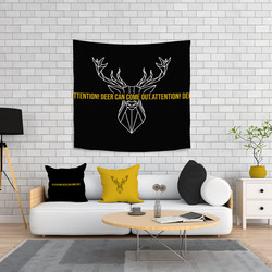 Minteks - LIVING SET 3 LU - DEER (100x100)