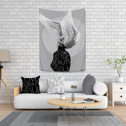 Minteks - LIVING SET 3 LU - LOVE (100x150)