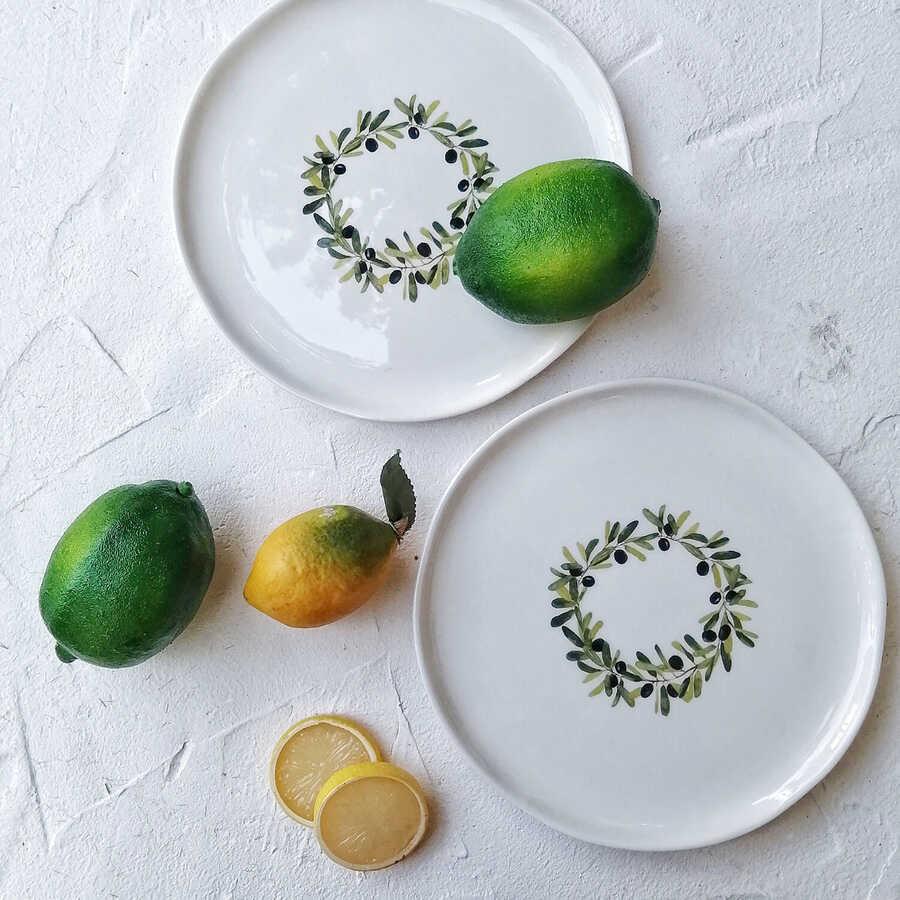 Meyve Tabak 2 (Hindistan Cevizi)