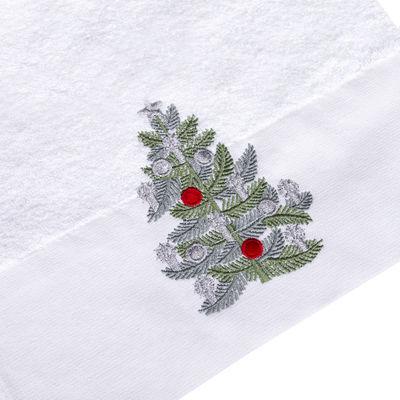 NOEL 30x50 cm. PINE TREE - BEYAZ HAVLU NYL.