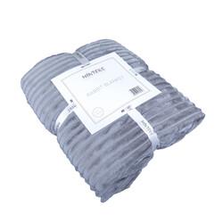 Minteks - RABBIT BLANKET TEK KS. 150x230 cm. - K.GRI